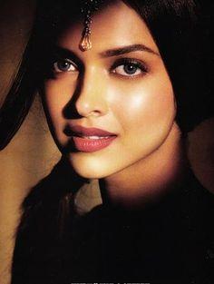 Deepika Padukone..  - ♀ www.pinterest.com/WhoLoves/Beautiful-Faces ♀ #beautiful #faces