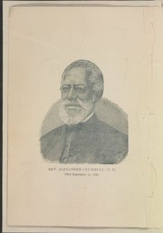 Image 4 of In memoriam of the late Rev. Alex Crummell, D. of Washington, D. : an address delivered before the American Negro Historical Society of Philadelphia African American Genealogy, African American History, Library Of Congress, Historical Society, Black History, Division, Philadelphia, Finance, Washington