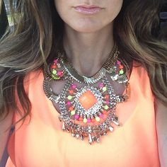 Statement necklaces available
