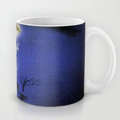 Way to home Mug by Oscar Tello Muñoz - $15.00