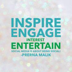 What your #smallbiz #socialmedia presence should do!!