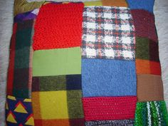 cushions from scraps of tartan - Google Search Making Cushions, Tartan, Scrap, Quilts, Blanket, Google Search, Making Throw Pillows, Quilt Sets, Plaid