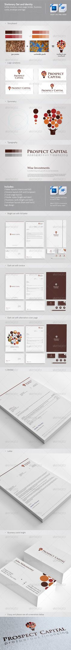 Green Research Center Corporate Identity Best Corporate identity - invoice print