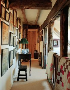 English farmhouse hallway