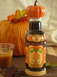Homemade Pumpkin Juice Harry Potter Style - Easy recipe and a party favorite!