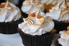 S'mores Cupcake mmm