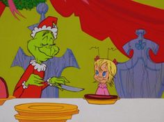 How the Grinch Stole Christmas! 1966 animated television special.