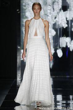 Hochzeitsmode — Kleider 2016 YolanCris  Alle Fotos in dem Artikel über Brautkleider http://de.lady-vishenka.com/bridal-dress-2016-yolancris/