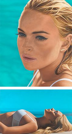 Large Scale Paintings by Richard Phillips | Inspiration Grid | Design Inspiration