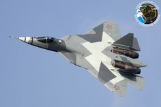 Russian Sukhoi T-50 stealth fighter. India will begin production of an export version by 2020.