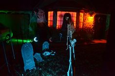 Front yard cemetery