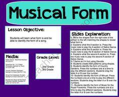 form music: