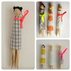 xn--wschklammer+m. Source by konitsche dolls Diy For Kids, Crafts For Kids, Clothespin Dolls, Clothespin Crafts, Dolly Doll, Apartment Balcony Decorating, Popsicle Stick Crafts, Tiny Dolls, Bear Doll