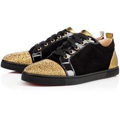 christian louboutin gondolastrass low-top sneakers