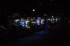 Can tho night stalls, Vietnam