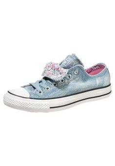Converse ALL STAR OX DOUBLE TONGUE CANVAS GRAPHIC - Sneakers laag - Blauw - Zalando.nl