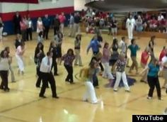 'Call Me Maybe' Flash Mob By Hancock High School Teachers Kicks Off School Year (VIDEO). I would LOVE to do this at school for the kids!