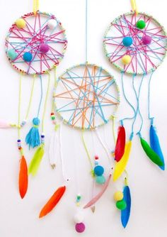 Kids DIY Dream Catcher