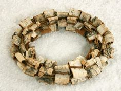 Christmas Decorations - BIRCH BARK WREATH