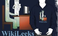 'WikiLeeks' T-Shirt by Cherie Roe Dirksen Hoodies, Sweatshirts, Workplace, V Neck T Shirt, Classic T Shirts, Graphic Sweatshirt, Sweaters, Stuff To Buy, Tops