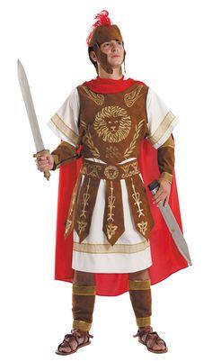 Completo disfraz de romano guerrero adulto                                                                                                                                                                                 Más