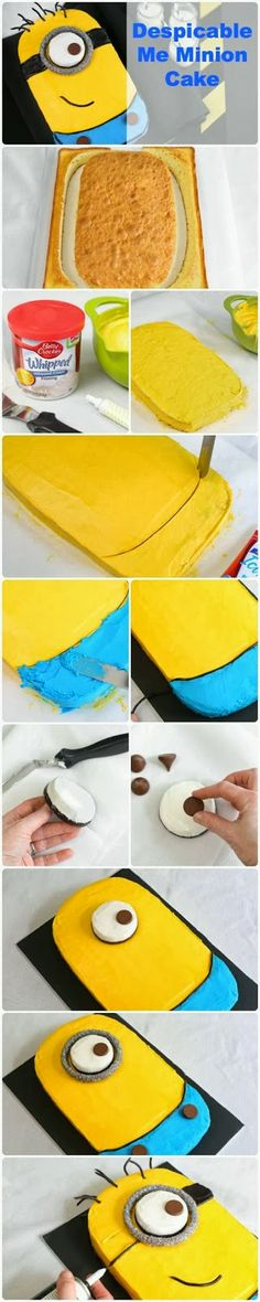FunStocki: Despicable Me minion cake!