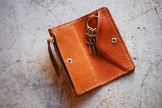 Key & Coin Case - Leather Factory Roberu Ground