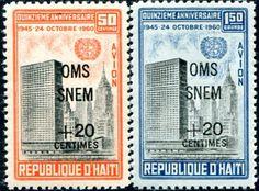 Francobolli . Lotta contro la malaria - Malaria on StampsHaiti 1961