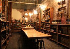 The Porter Beer Bar, Atlanta. Beer cellar