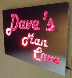 Man cave sign - cool idea