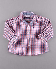 Camisa cuadros manga larga (talla 3 meses) 4,75€ http://www.quiquilo.es/bebe-nino/1355-camisa-cuadros-manga-larga.html