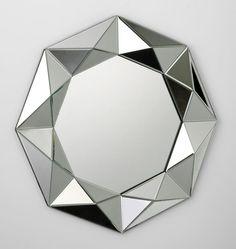 "Cyan Design Mirror 33""D"