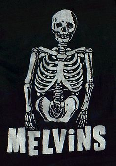 The front of said The Melvins T