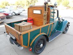 Ford Y model Woodie Pickup Truck