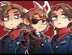 Paul, Patrik & Tord (Red Army)