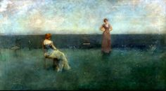 Thomas Wilmer Dewing - The Recitation (1891)