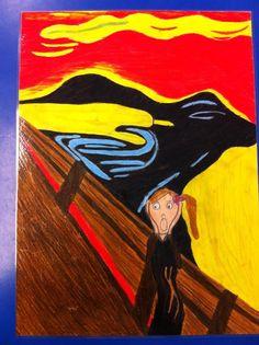 The scream - Munch