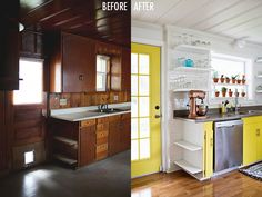Kitchen Tour (click through to watch the before/after video tour!)