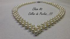 Hoy presentamos la elaboracion de un hermoso collar de perlas, Con el cual completamos el primer conjunto de accesorios para que te veas muy preciosa...!!! T...