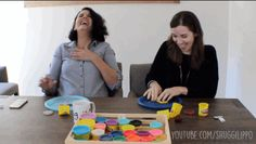 The Play D'Oh YouTube Challenge w/Sarah from JP | #friHIday