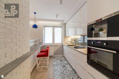 Kuchnia styl Nowoczesny - zdjęcie od Pogotowie Projektowe Aleksandra Michalak - Kuchnia - Styl Nowoczesny - Pogotowie Projektowe Aleksandra Michalak