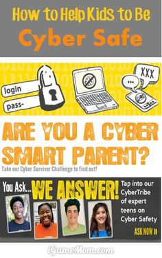 How to help kids be cyber safe and prevent cyber bully? These are very helpful tips. #cybersafe
