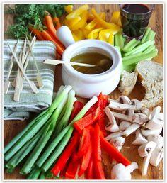 1 bagna cauda vegetables