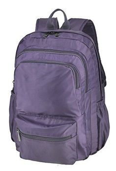 8c746876d3fc Laptop Backpack Up to 16-inches Travel Business Backpack Large (Purple)   fashion