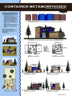 The New Home on the Range, Shipping Container House