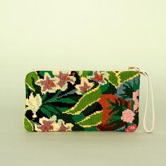 Trousse Tropical Garden clutch #splendidsummer