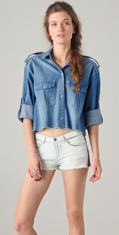 denim shirt // love it