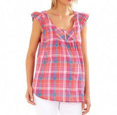 L'Abbigliamento Premaman primavera estate 2014 segue i Trend del Momento abbigliamento premaman primavera estate 2014 blusa Kiabi