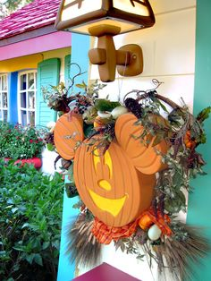 Halloween Decoration by Mickey's Front Door | Flickr - Photo Sharing!