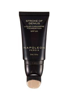 NAPOLEON PERDIS Stroke Of Genius Liquid Cashmere Foundation Look 1